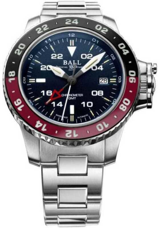 Ball Engineer Hydrocarbon AeroGMT II Blue Dial