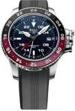 Ball Engineer Hydrocarbon AeroGMT II Blue Dial on Strap
