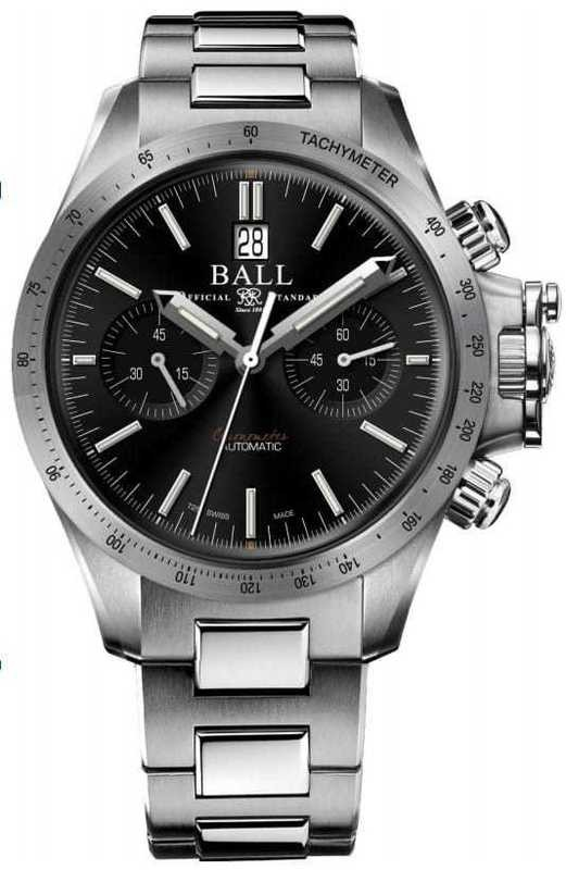Ball Engineer Hydrocarbon Racer Chronograph Black