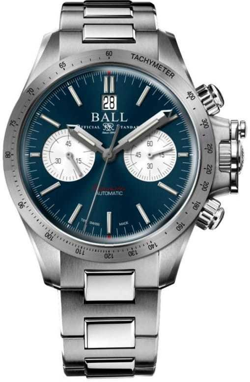 Ball Engineer Hydrocarbon Racer Chronograph Blue