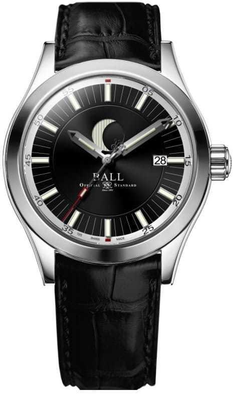 Ball Engineer II Moon Phase Black Dial