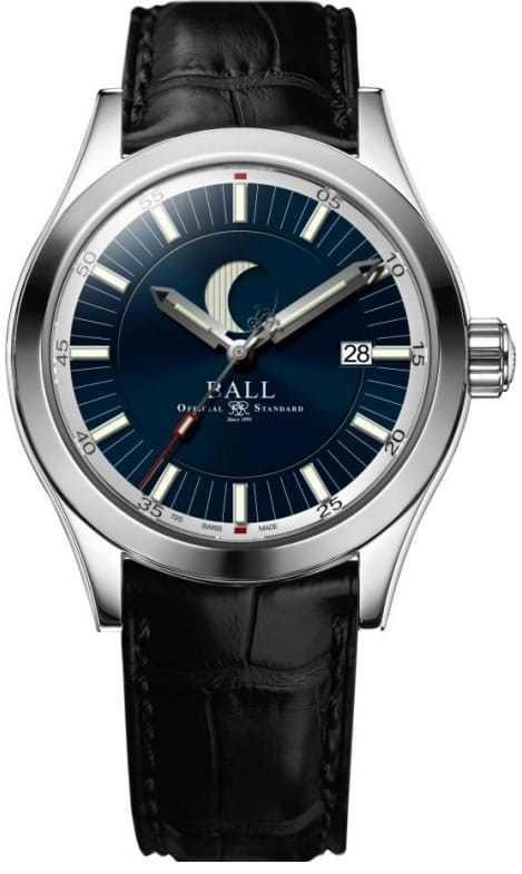 Ball Engineer II Moon Phase Blue Dial