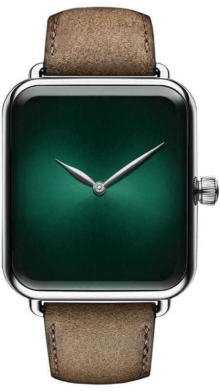H. Moser & Cie Swiss Alp Watch Cosmic Green