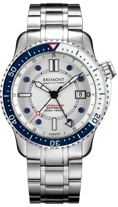 Bremont Waterman Limited Edition on Stainless Steel Bracelet