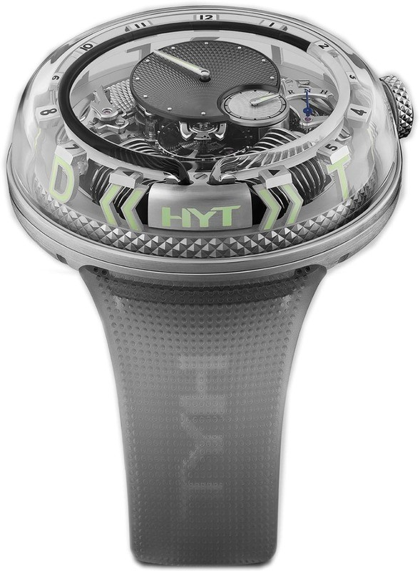HYT H20 Time is Fluid Silver Limited Edition