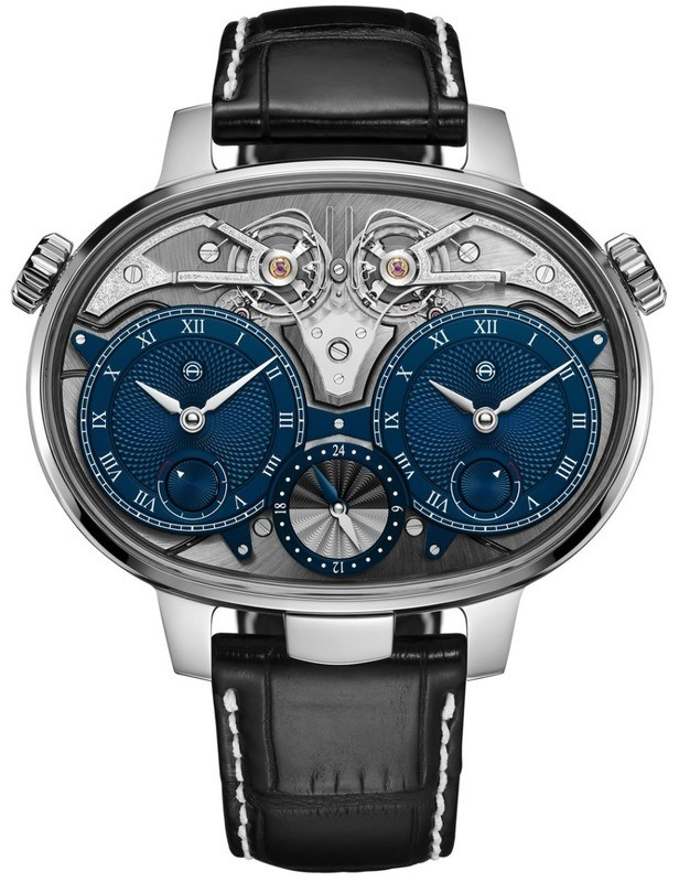 Armin Strom Dual Time Resonance White Gold