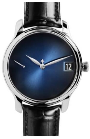 H. Moser & Cie. Endeavour Perpetual Calendar Concept Blue Fumé