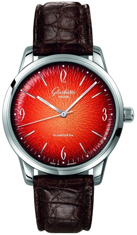 Glashütte Original Sixties Annual Edition Fiery Orange