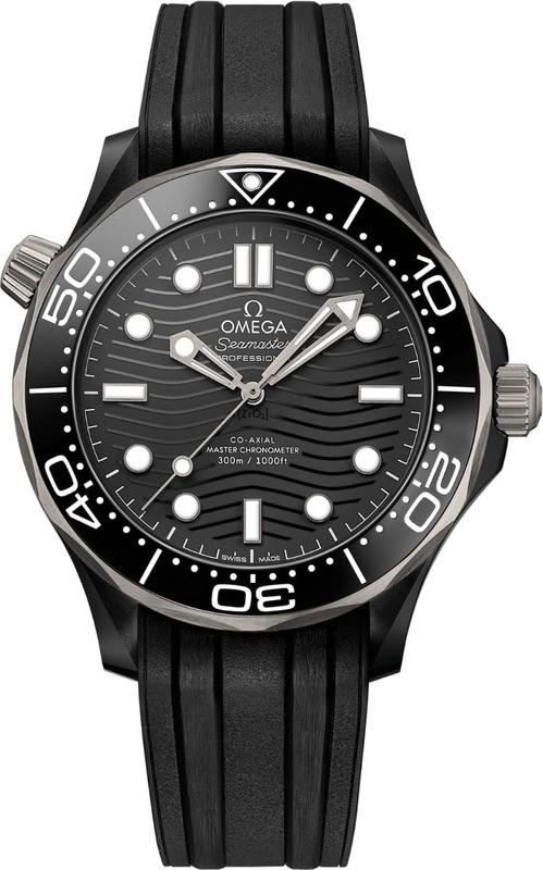 Omega Seamaster Diver 300m Co-Axial Master Chronometer 43.5mm Ceramic