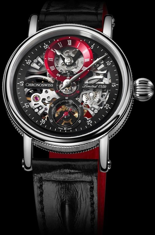 Chronoswiss Flying Grand Regulator Skeleton Red