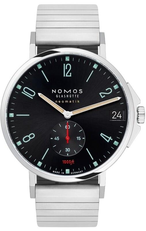 NOMOS Glashütte Tangente Sport Neomatik 42mm Date Marine Black