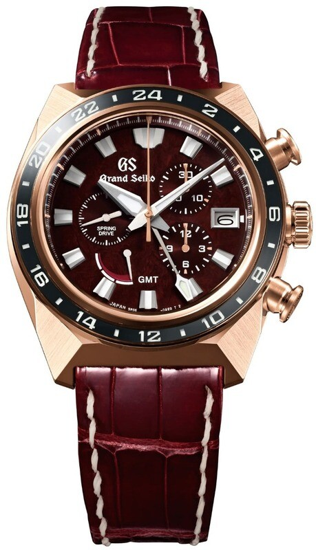 Grand Seiko Sport SBGC230 GMT Spring Drive Limited Edition Red Dial Chronograph