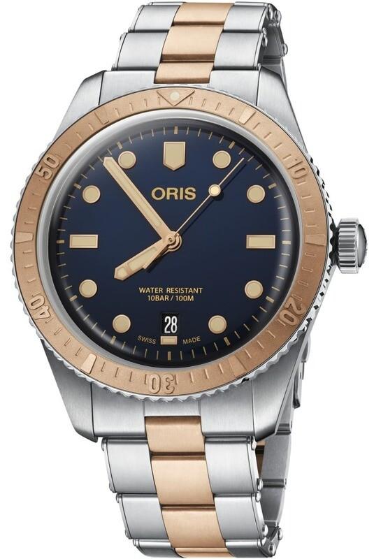 Oris Divers Sixty Five Bi-Color on Bracelet