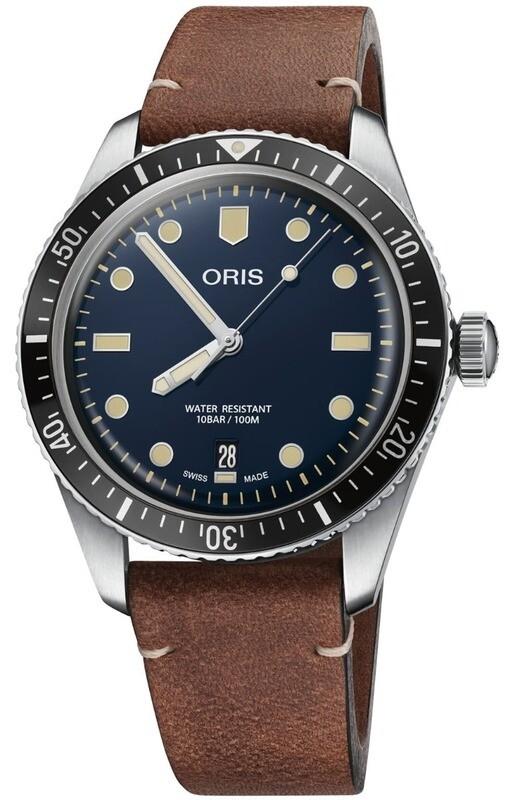 Oris Divers Sixty Five Blue