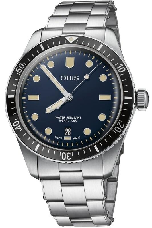 Oris Divers Sixty Five Blue on Bracelet