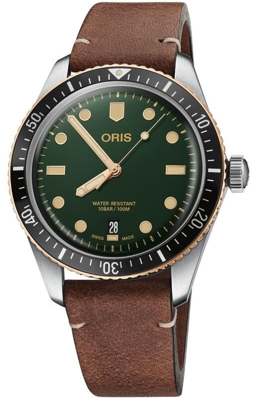 Oris Divers Sixty Five Green Dial