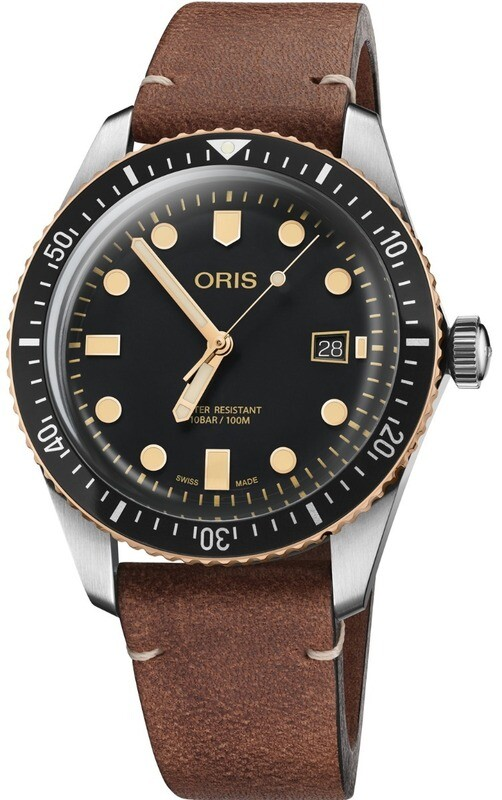 Oris Divers Sixty-Five Black Dial