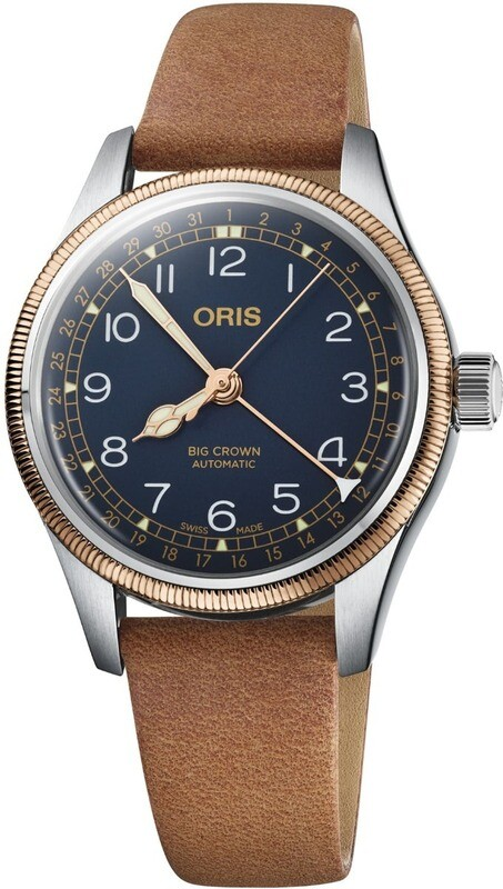 Oris Big Crown Pointer Date Blue Dial