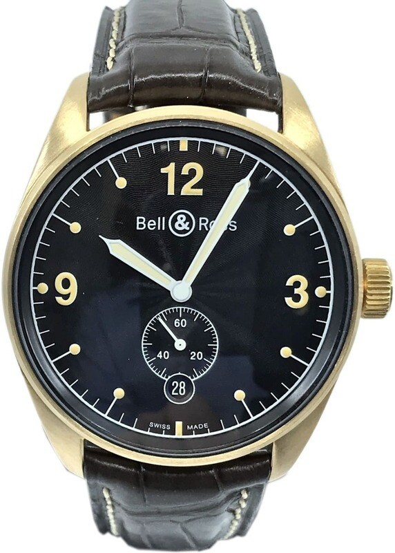 Bell & Ross BR 123 Yellow Gold