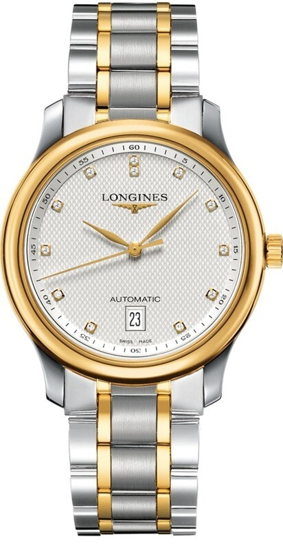 Longines Master Collection Steel & Gold