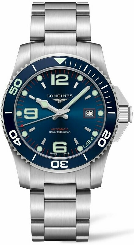 Longines Hydroconquest USA Blue Dial