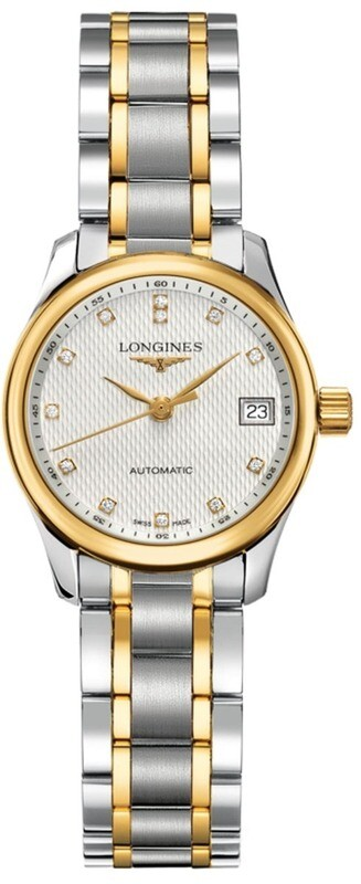 Longines Master Collection 25mm Steel & Gold
