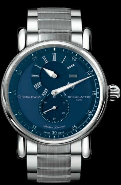 Chronoswiss Regulator Classic Blue Dial