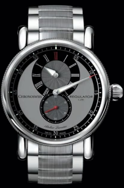 Chronoswiss Regulator Classic Black Dial 37mm