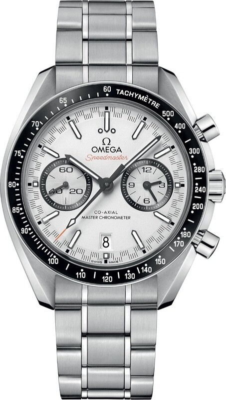 Omega Speedmaster Co-Axial Chronograph 44mm White Dial