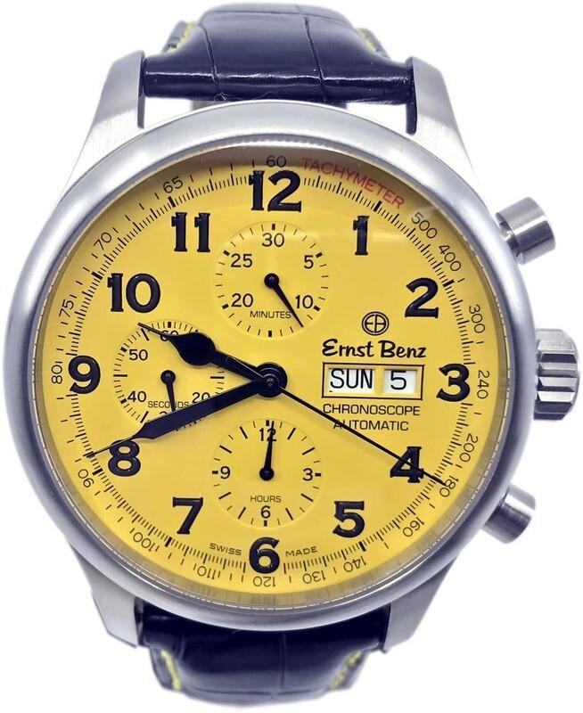 Ernest Benz GC40118 Yellow Dial