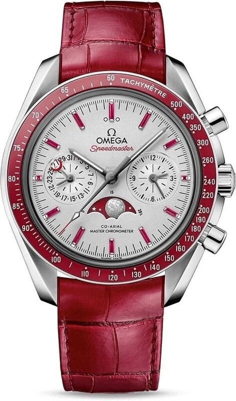 Omega Speedmaster Moonwatch Master Chronometer Moonphase Platinum