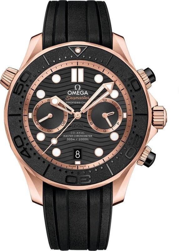 Omega Seamaster Diver 300 Master Chronometer Chronograph 44mm