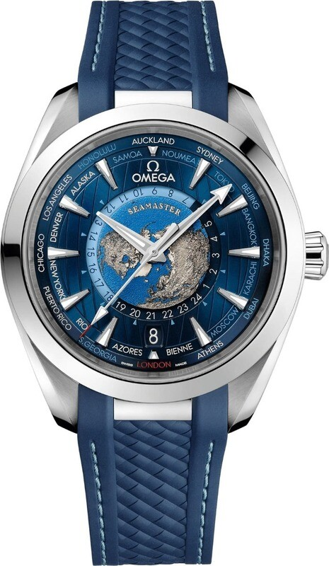 Omega Seamaster Aqua Terra 150m GMT World Timer 43mm