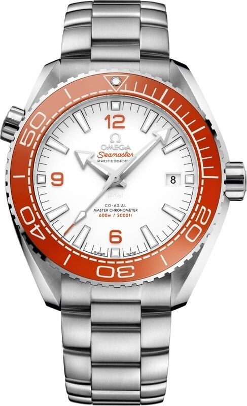 Omega Seamaster Planet Ocean 600M Master Chronometer Orange