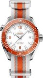Omega Seamaster Planet Ocean 600M Master Chronometer Orange on NATO Strap