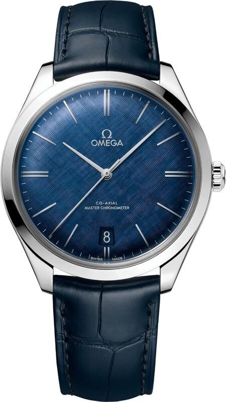 Omega De Ville Tresor Blue Dial