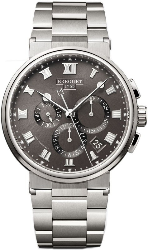 Breguet Marine Chronographe 5527TI/G2/TW0