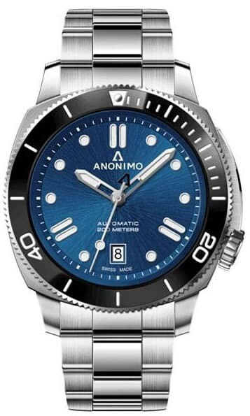 Anonimo Nautilo Classic Blue Dial on Bracelet