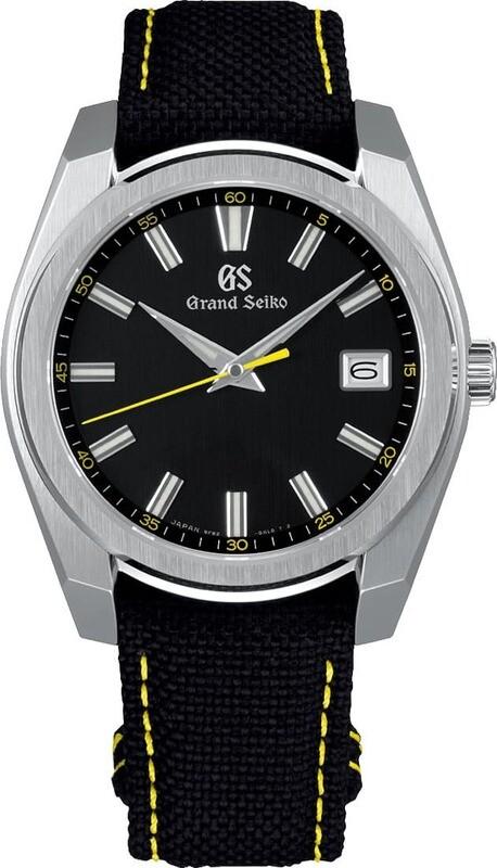 Grand Seiko Sport SBGV243 Quartz Black Dial 40mm
