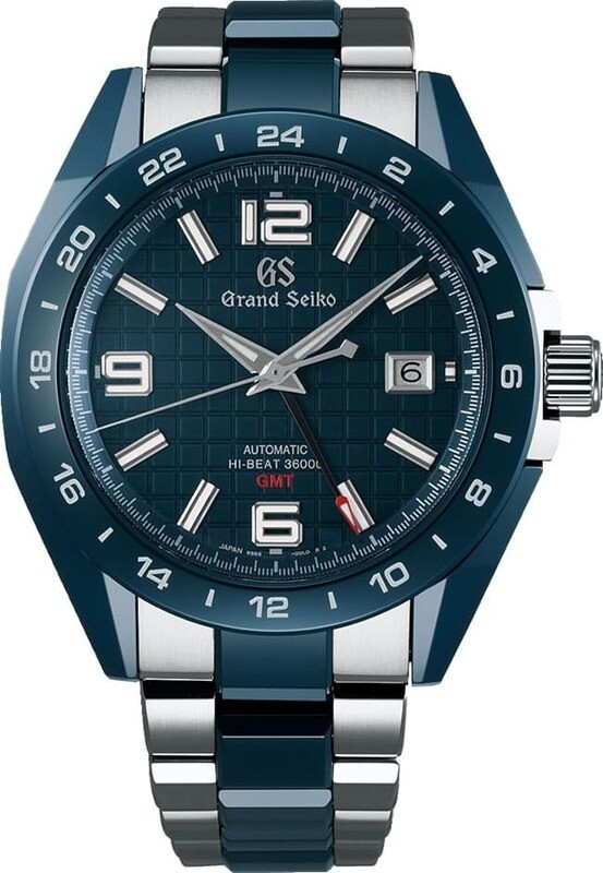 Grand Seiko Sport SBGJ233 Hi-Beat GMT Blue