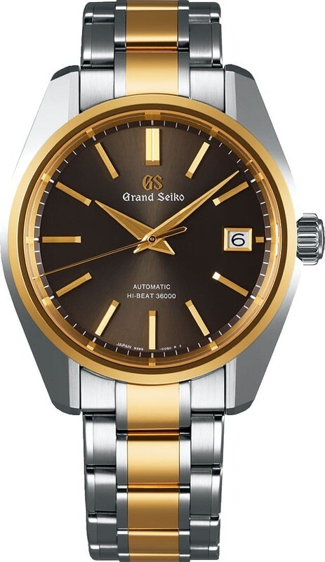 Grand Seiko SBGH254 Limited Edition Brown Dial Yellow Gold