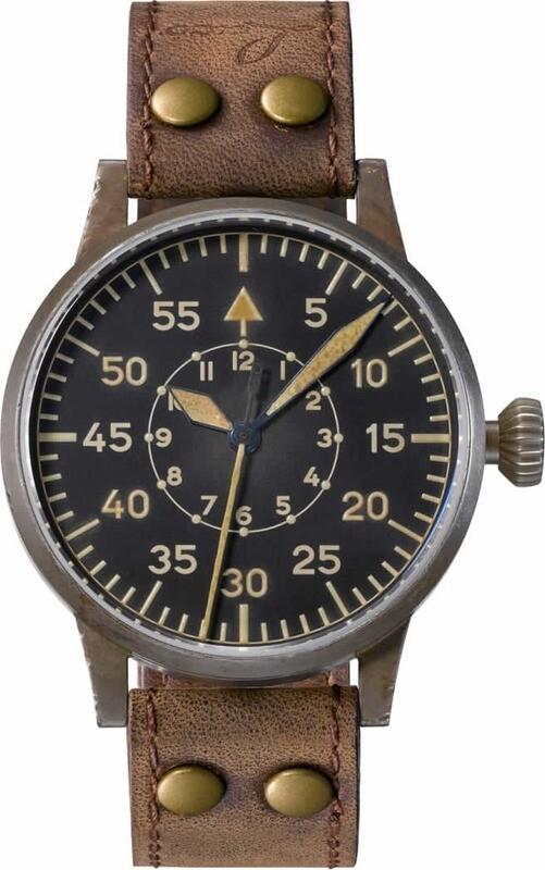 Laco Pilot Watch Original Paderborn Erbstück