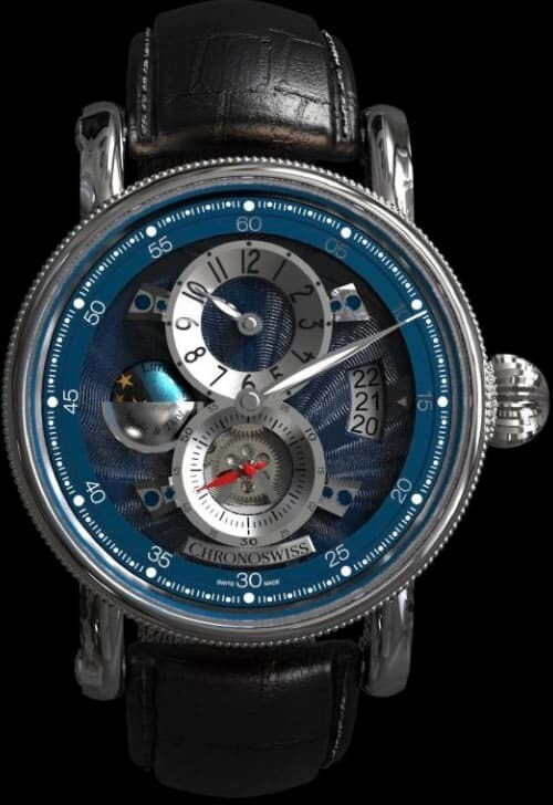 Chronoswiss Flying Regulator Night And Day Blue