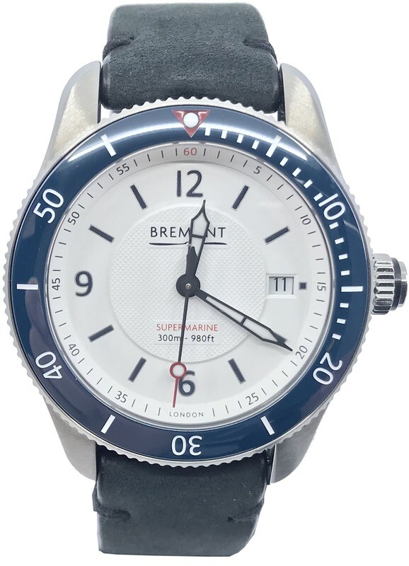 Bremont S300/WH White