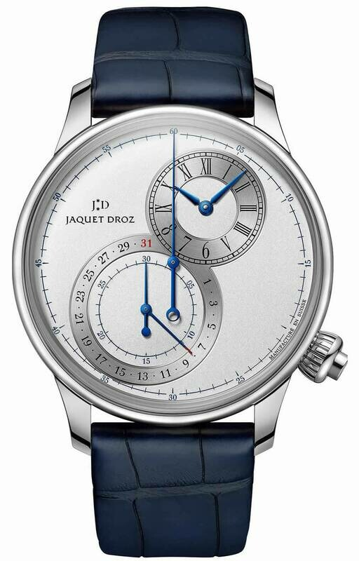 Jaquet Droz Grande Seconde Off-centered Chronograph Silver