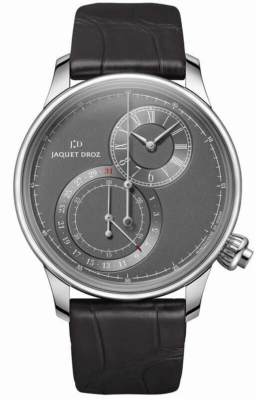 Jaquet Droz Grande Seconde Off-centered Chronograph Gray