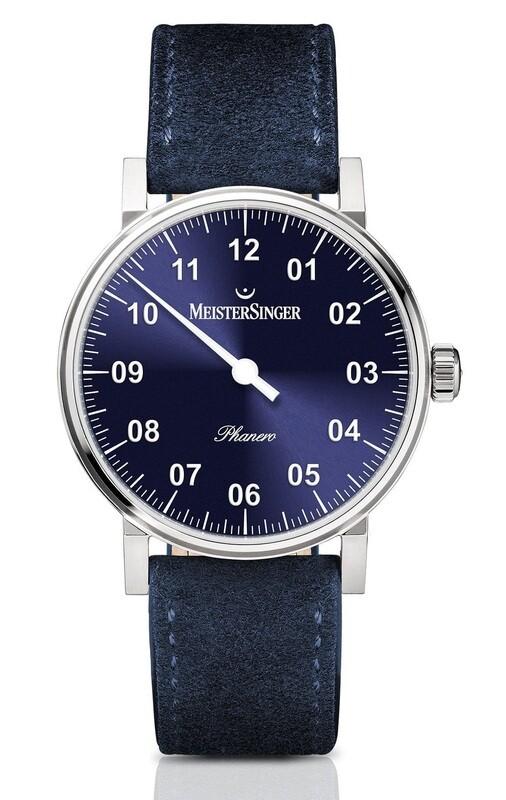 MeisterSinger Phanero Sunburst Blue PH308