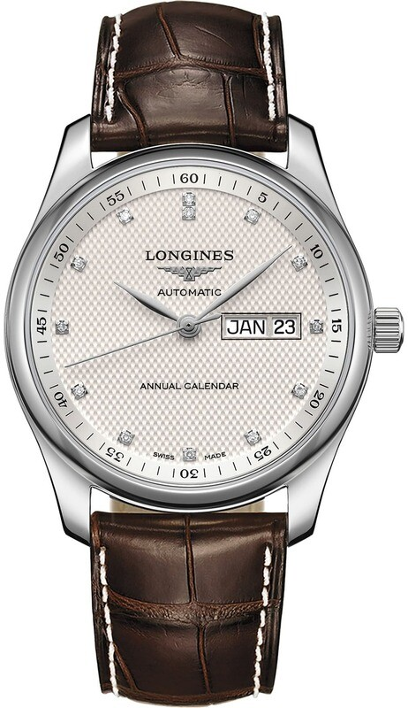 Longines Master Silver Barleycorn L2.910.4.77.3