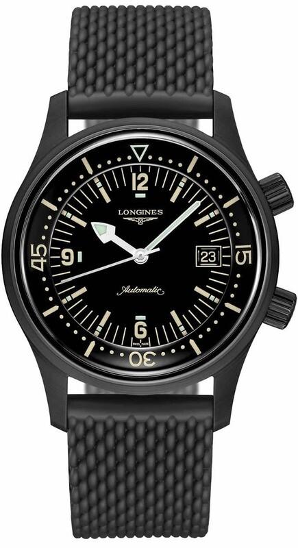Longines Legend Diver 42mm PVD Automatic