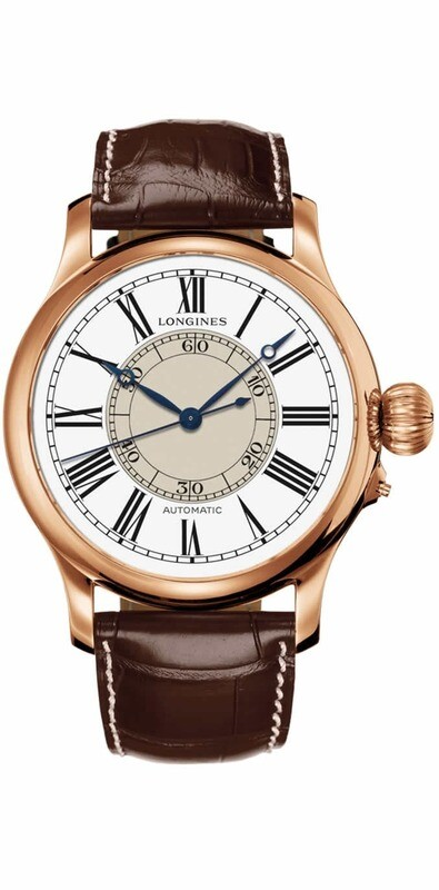 Longines Weems 47mm Gold 18K Automatic